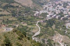 De stad van Kajaran in Armenië Royalty-vrije Stock Foto's