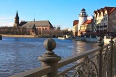 De stad van Kaliningrad Stock Afbeelding