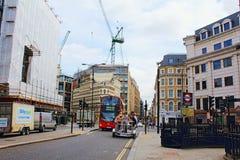 De Stad van de kanonstraat van Londen Engeland royalty-vrije stock afbeelding