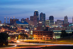 De Stad van Kansas. Royalty-vrije Stock Foto