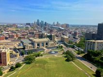 De stad van Kansas royalty-vrije stock foto