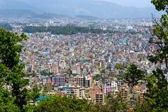 De stad van Katmandu in Nepal Royalty-vrije Stock Fotografie