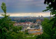 De Stad van Kiev Stock Foto's
