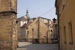 De stad van Klodzko Royalty-vrije Stock Afbeeldingen
