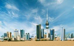 De Stad van Koeweit Royalty-vrije Stock Foto's