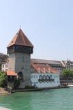 De stad van Konstanz, Duitsland, jaar 2013 Stock Foto