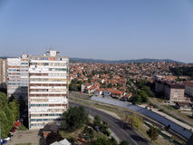 De stad van Kragujevac Royalty-vrije Stock Fotografie