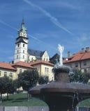 De stad van Kremnica Stock Foto's