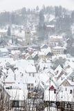 De stad van Kulmbach in Franconia, Duitsland Royalty-vrije Stock Foto's