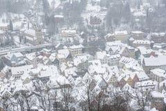 De stad van Kulmbach in Franconia, Duitsland Royalty-vrije Stock Foto