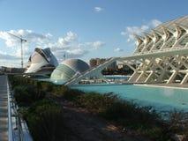 De Stad van kunsten en van Wetenschappen Stock Fotografie
