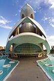 De stad van Kunsten en Wetenschappen Valencia, Spanje Stock Fotografie