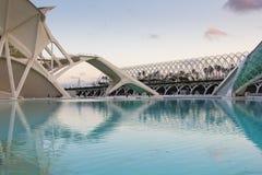 De Stad van Kunsten, Valencia Royalty-vrije Stock Foto's