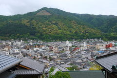 De stad van Kyoto Stock Afbeeldingen