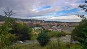 De stad van La Garriga Royalty-vrije Stock Fotografie