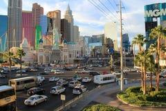 De Stad van Las Vegas Royalty-vrije Stock Afbeeldingen