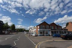 De Stad van Leicester royalty-vrije stock foto