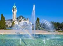 De stad van Limoges, Frankrijk Stock Foto's