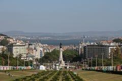 De stad van Lissabon, Portugal Stock Afbeeldingen