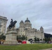 De stad van Liverpool stock foto's