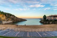 De Stad van Llanes in Noordelijk Spanje royalty-vrije stock fotografie