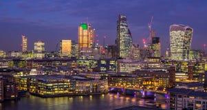 De stad van Londen Royalty-vrije Stock Foto's