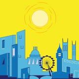 De Stad van Londen vector illustratie