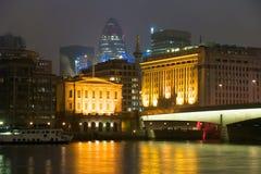 De stad van Londen Stock Foto's
