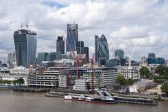 De stad van Londen Stock Afbeelding