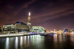 De stad van Londen, het UK Engeland Stock Afbeeldingen