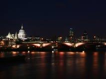 De stad van Londen - nacht scene#4 Royalty-vrije Stock Foto's