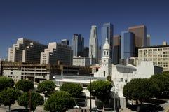 De Stad van Los Angeles Stock Afbeeldingen