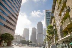 De stad in van Los Angeles, Californië de V.S. in zonnig royalty-vrije stock afbeeldingen