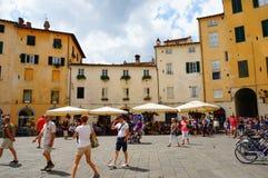 De stad van Luca Stock Afbeeldingen