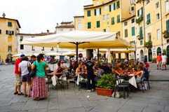 De stad van Luca Royalty-vrije Stock Afbeeldingen