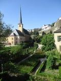 De stad van Luxemburg, Grund Royalty-vrije Stock Fotografie