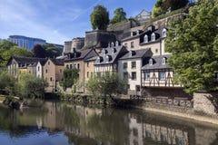 De Stad van Luxemburg - het Groothertogdom Luxemburg Royalty-vrije Stock Foto