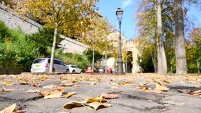 De stad van Luxemburg tijdens de daling stock videobeelden