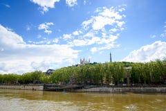De stad van Lyon Royalty-vrije Stock Foto