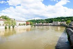 De stad van Lyon Royalty-vrije Stock Foto's