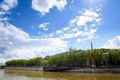 De stad van Lyon Royalty-vrije Stock Fotografie