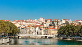 De stad van Lyon, Frankrijk Royalty-vrije Stock Fotografie