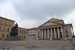 De stad van München, Duitsland Stock Foto's