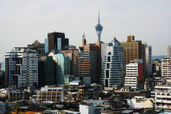 De stad van Macao stock fotografie