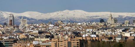 De stad van Madrid Royalty-vrije Stock Afbeeldingen