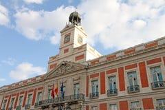 De stad van Madrid, Spanje Stock Fotografie