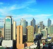 De stad van Makati stock foto's