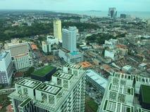 De stad van Malacca Stock Afbeeldingen