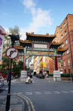 De Stad van Manchester China Stock Afbeeldingen