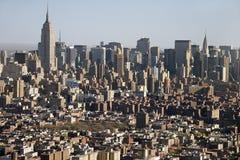 De Stad van Manhattan, New York. Stock Fotografie